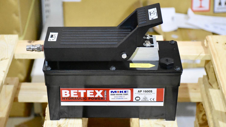Bơm thủy lực dẫn động bằng khí nén, BETEX AP1600D. Hydraulic Air Driven Pump.