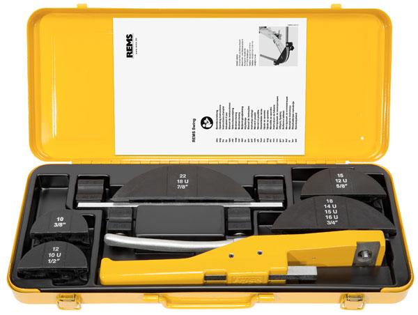 Dụng cụ uốn ống REMS Swing cầm tay, bán tự động.