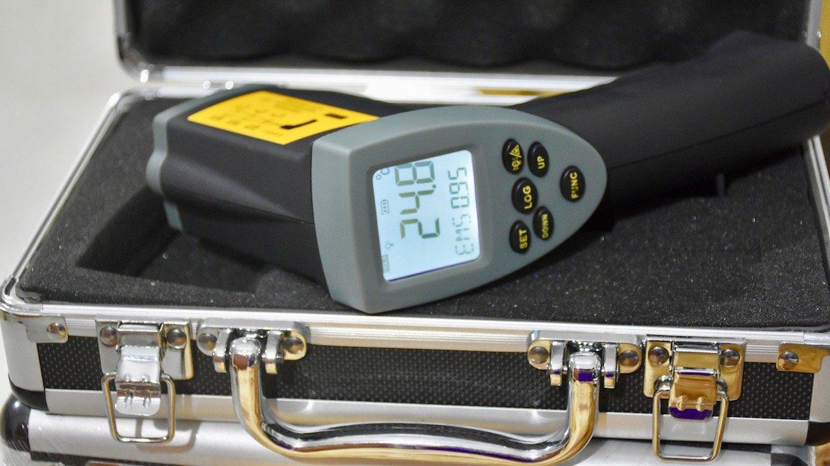 súng đo nhiệt độ 1100 độ C