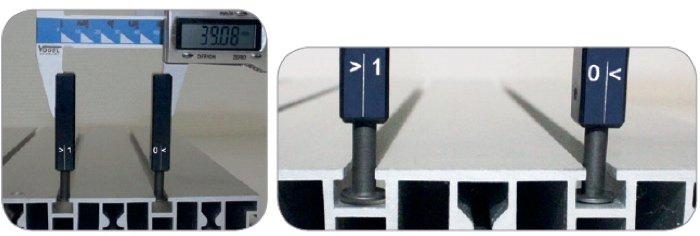 Thước cặp điện tử đi với dưỡng đo đặc biệt Vogel Germany.