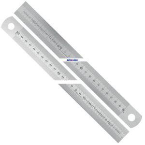 10081 Thước Inox khắc laser dung sai theo tiêu chuẩn EC II, MID-Code, CE.
