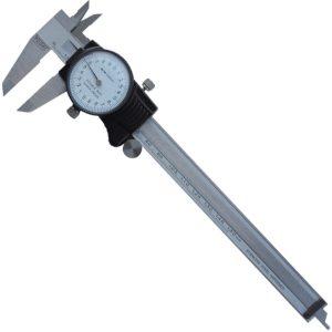 200140 Thước cặp đồng hồ 150 mm, ±0.02mm, chống sock, chống nước IP40.