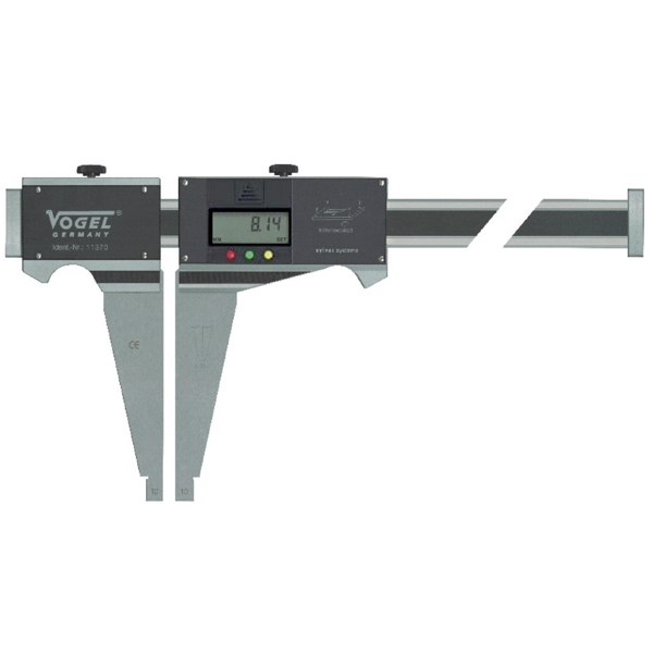Thước cặp điện tử 1m Sylvac, 1000mm x 0.01mm, ngàm cặp kép. Vogel Germany