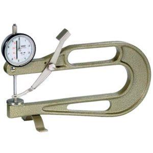 Đồng hồ đo độ dày tấm 0 -10 mm, độ chính xác 0.01mm, đầu đo type M.