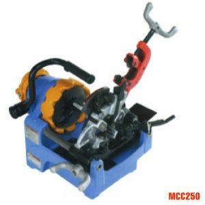 Máy tiện ren ống MCC250, từ 1/4 inch đến 1 inch, tiện ren bu lông.