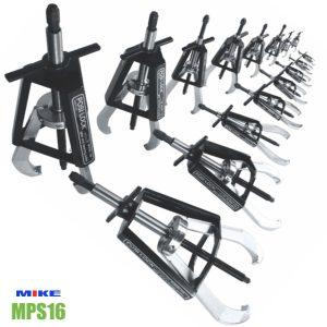Bộ cảo vòng bi Master Puller Set, 2 chấu, 3 chấu, 16pcs, 1 - 35 tấn