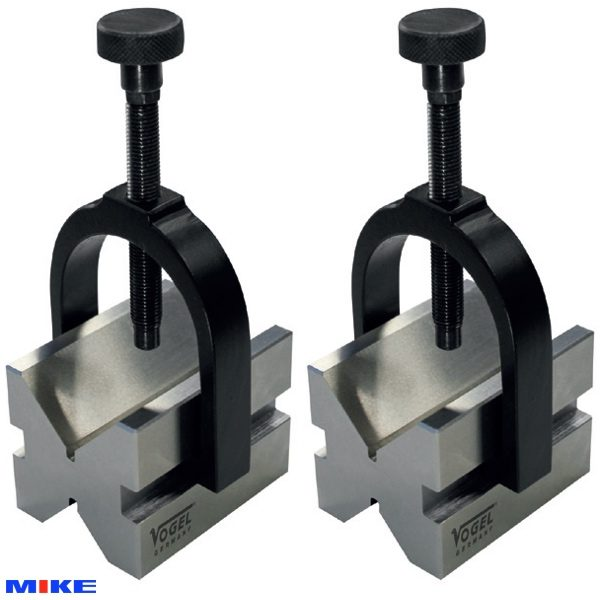 Cặp khối chuẩn 0.004 V-Block 75x55x55mm, Inox
