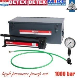 Ultra high pressure pumps set BETEX AHP704