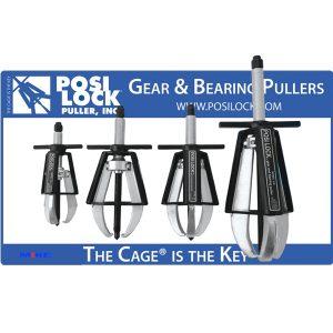Bộ cảo vòng bi Posilock PM4, 2 chấu, 3 chấu, 5 - 20 tấn. Bearing Pullers. Posilock USA.