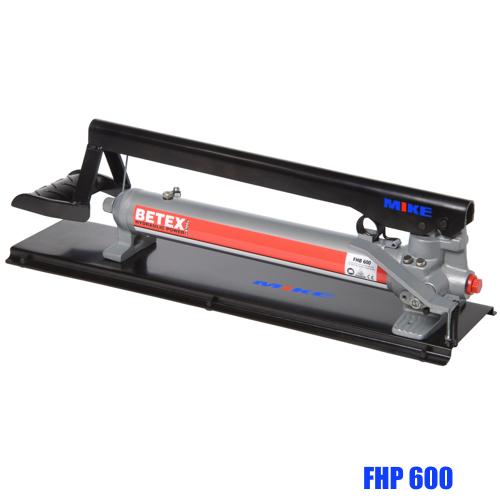 Bơm thủy lực bằng chân BETEX FHP600, dung tích 600 ml, áp suất max 700 bar.