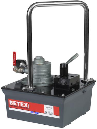 bơm thủy lực dẫn động bằng khí nén BETEX