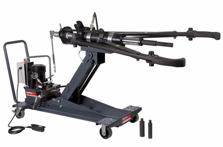 Cảo thủy lực di động BETEX HXPM 50, 2 chấu. Mobile hydraulic Puller.