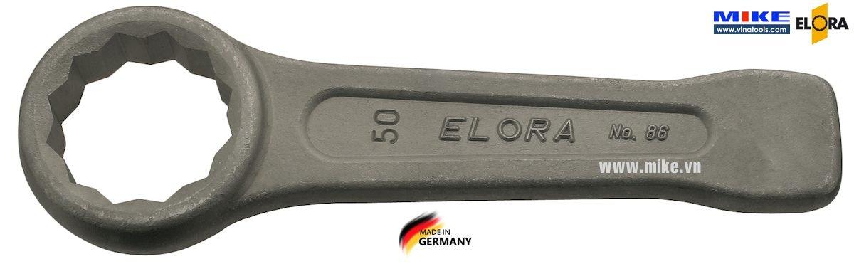 Cờ lê vòng đóng hệ mét Elora 86-Series, size từ 22mm đến 230mm, DIN 7444.