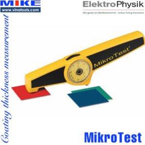 Đo độ dày lớp phủ MikroTest