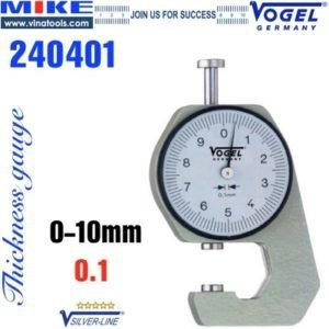 Đồng hồ đo độ dày 0-10 mm Thickness gauge