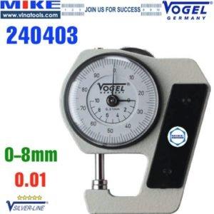 Đồng hồ đo độ dày tôn thép bỏ túi dải 0-8 mm