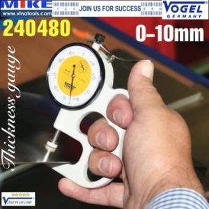 Đồng hồ đo độ dày tôn thép 0-10 mm