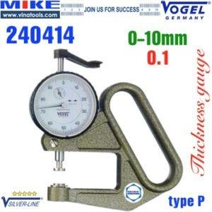Đồng hồ đo độ dày vật liệu tấm dày0 -10 mm