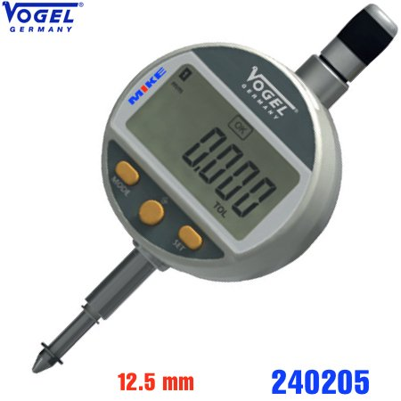 Đồng hồ so điện tử 12.5mm ±0.001mm, chống thấm nước IP51. Digital Dial Indicator.