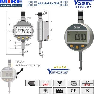 Đồng hồ so điện tử chống nước mưa IP51
