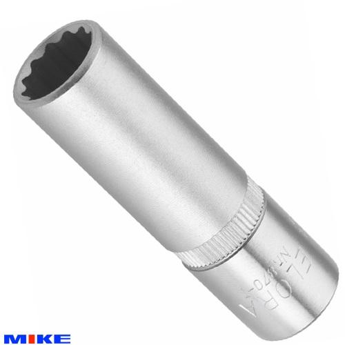 """Đầu tuýp hệ mét ELORA 870-T, vuông 3/8"""", socket 12 cạnh từ 10mm-22mm."""
