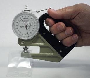 Đồng hồ đo độ dày màng phim mỏng Vogel Germany. Model 240400