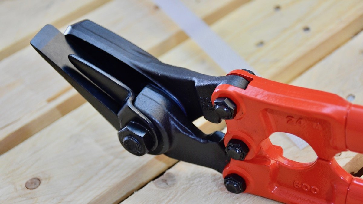 Kìm cắt seal container, kéo cắt seal, kìm cắt dây đai Strap Cutter MCC Japan - (27
