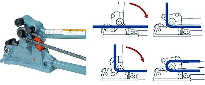 Kìm cộng lực cắt uốn sắt CB-0213, OD 10 đến 13 mm, MCC Japan.