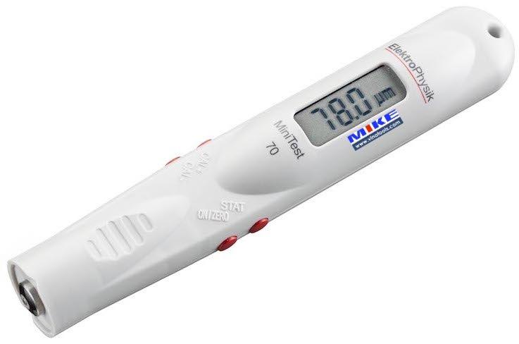 Máy đo bề dày lớp phủ bỏ túi MiniTest 70