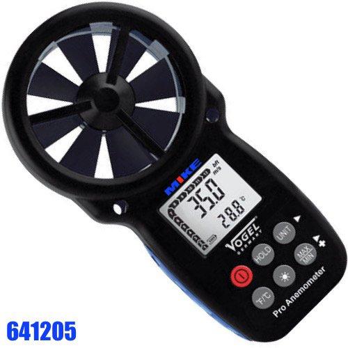 Máy đo độ tốc độ gió điện tử 0.3 - 30 m/s. Digital Anemometer. Vogel Germany.