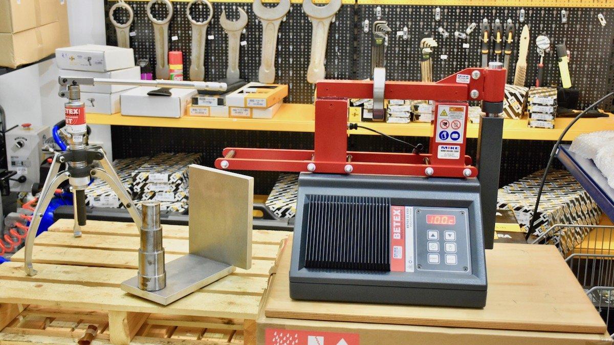Máy gia nhiệt vòng bi BETEX 22 ESDi, Max OD: 380 mm, 3.6kW