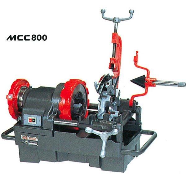 Máy tiện ren ống 3 inch, tiện bulong từ M8 đến M30. MCC800. Made in Japan.