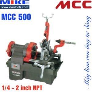 Máy tiện ren ống tiện bulong MCC500 Japan