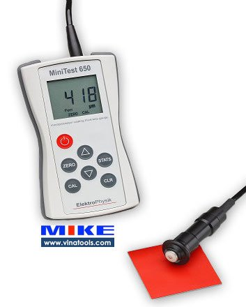 MiniTest 650 Series Máy đo bề dày lớp phủ ElektroPhysik Germany.