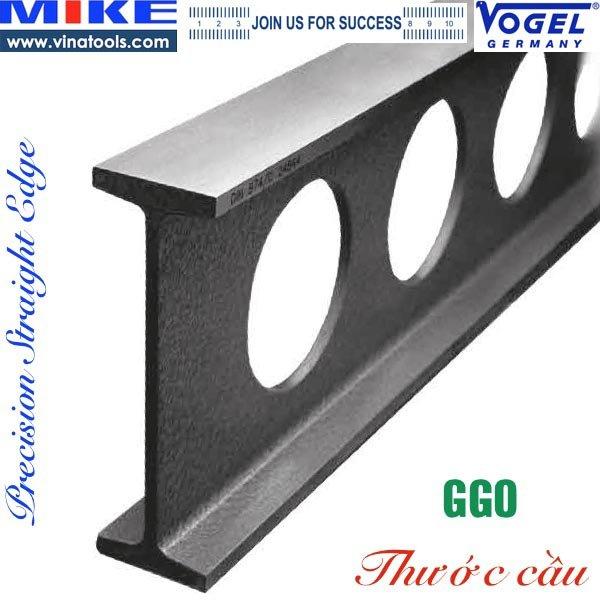 Thước cầu 1500mm, thước thẳng EDGE, thước cầu chữ I GG0. Thước cầu 1,5m. Vogel Germany. Phân phối chính hãng. Giao hàng toàn quốc. Bảo hành 12 tháng.