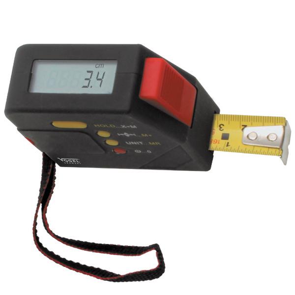 Thước cuộn điện tử 5m, Digital Measuring Tape. Vogel Germany.