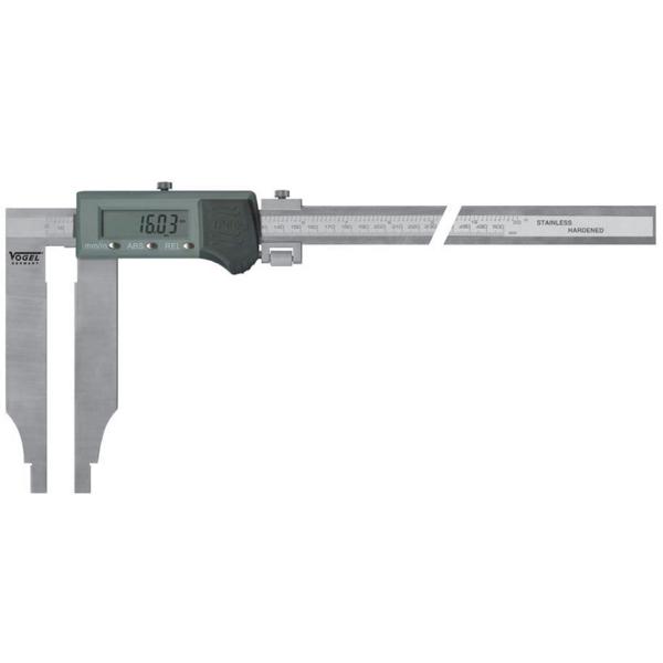 Thước cặp điện tử 1000x150mm, cấp bảo vệ IP66, ngàm cặp đơn.