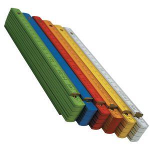Thước xếp, thước gỗ Wood folding rules, nhiều màu sắc khác nhau