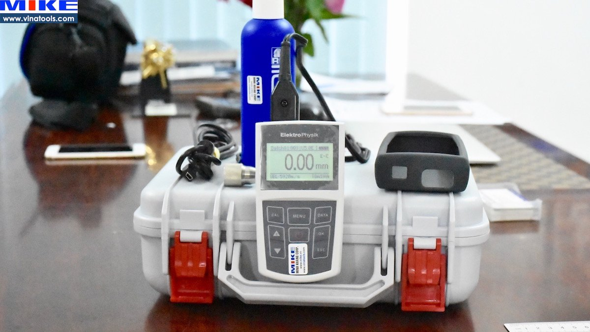 Máy đo độ dày kim loại, đo xuyên lớp phủ MiniTest 440 - ElektroPhysik