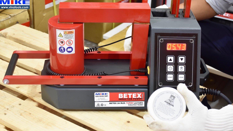 Hộp dầu dẫn từ tính Máy gia nhiệt vòng bi BETEX 24 RLDi