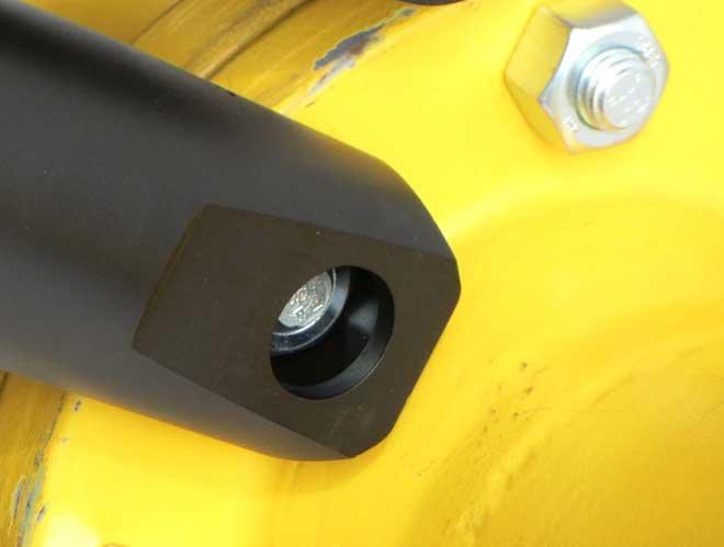 Cắt đai ốc bằng thủy lực NS12TE, đai ốc từ 17.5 đến 30mm. M12 - M20