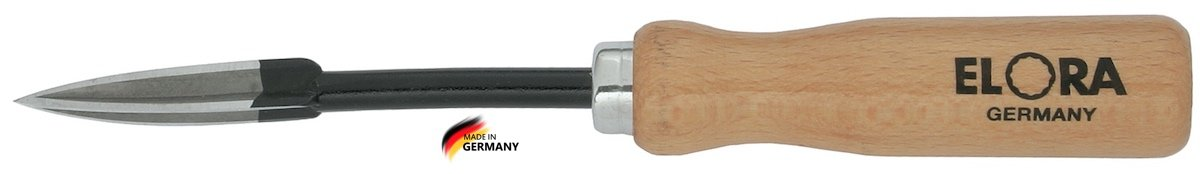 Dao cạo bạc đạn 3 khía, dụng cụ làm sạch lỗ ELORA 272 Series