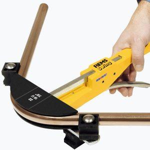 Dụng cụ uốn ống REMS Swing cầm tay, bán tự động. Made in Germany.