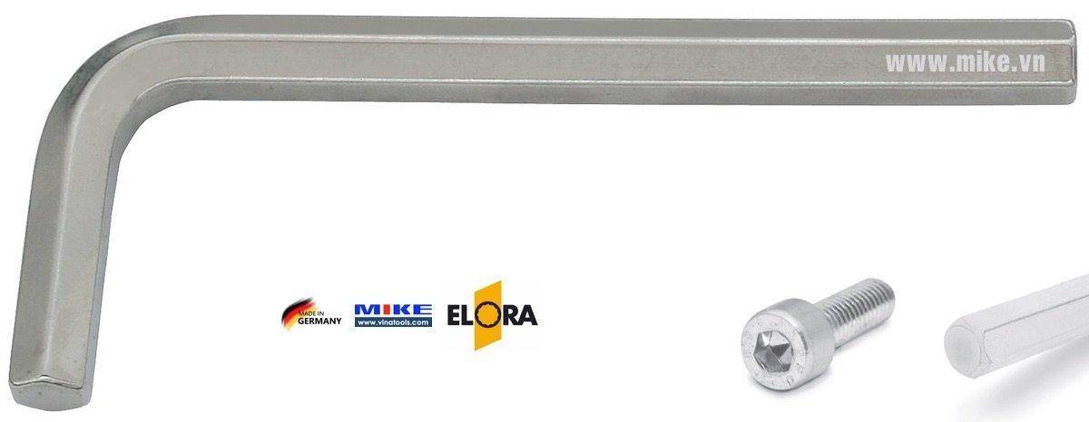 Lục giác hệ mét ELORA 159 Series, từ 0.7 - 36mm, loại ngắn