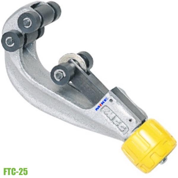 Dao cắt ống inox 25mm FTC-25, cắt được cả ống thép và đồng. Sản xuất tại Nhật.