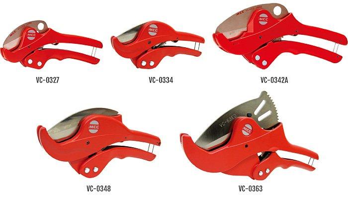 Dao cắt ống nhựa PVC, VC-03 Series đường kính từ 27mm đến 63mm