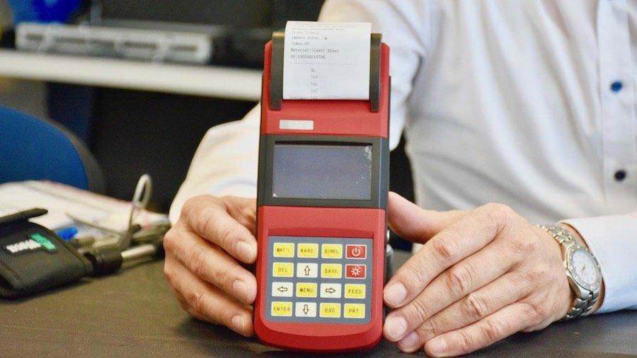 Máy đo độ cứng kim loại vạn năng, Rebound Hardness Tester. OLED
