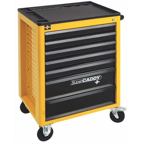 Tủ dụng cụ 7 ngăn SUPER CADDY 1220 - LOT, không bao gồm dụng cụ.