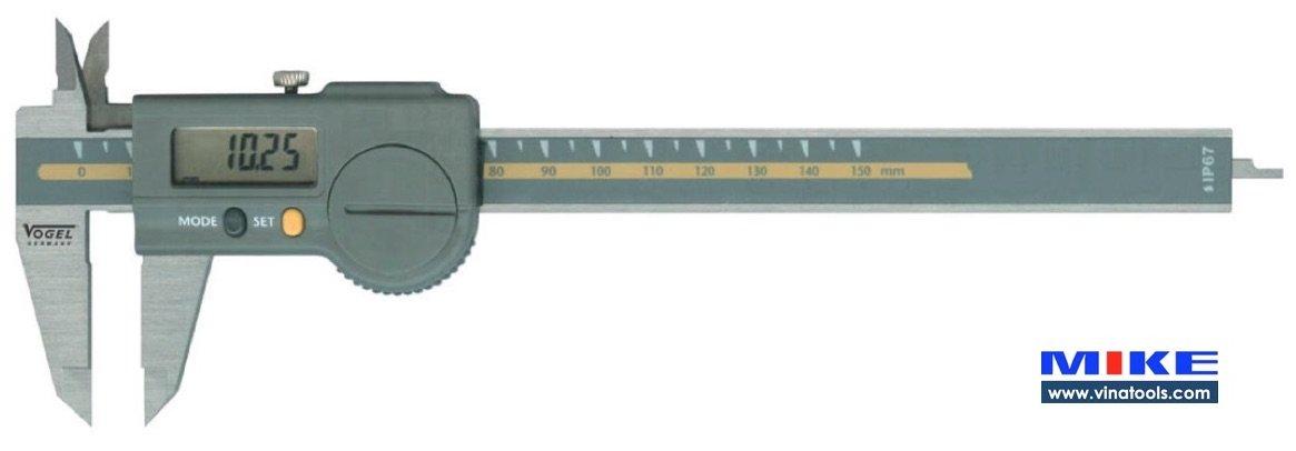 Thước cặp điện tử Sylvac 200mm IP 67, tiêu chuẩn cho chuyên gia. Vogel Germany.