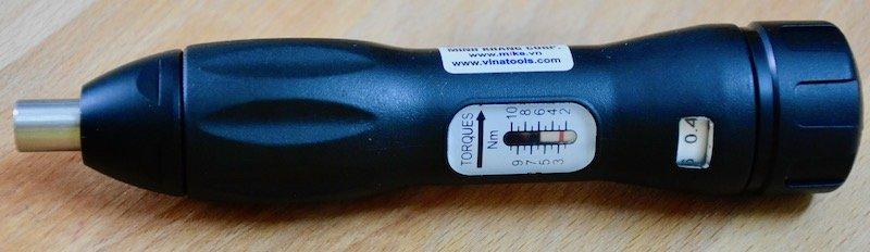 Tô vít lực 2-10 N.m, tuốc nơ vít chỉnh lực, ELORA 2011-1000
